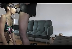 Submissive Redbone forced just about Deepthroat BBC