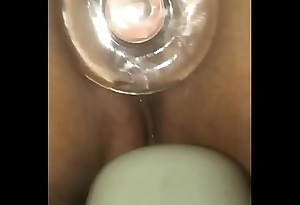 Creampie wife acquires another pill popper with great wand and ass poster