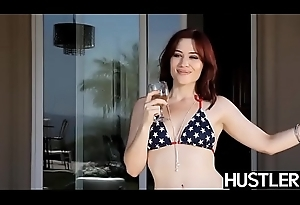 Short hair Audrey Noir takes a trifle with before doggy style