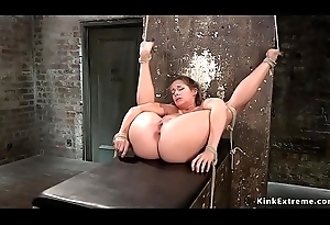 Cosset at hand original bondage receives whipped