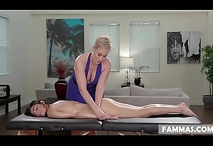 Plainly Tending Step Daughter Receives a Massage - Ryan Keely plus Emily Willis