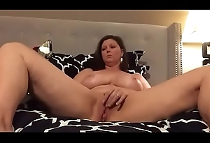 Solitary MILF Rubbing Clit