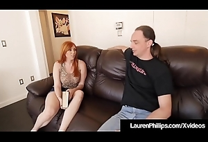 Ginger Undercover Lauren Phillips Acquires Pounded By Sex Coach!