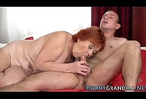Small titted gilf team-fucked
