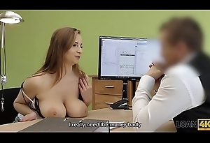 LOAN4K. Buggy is crashed and dirty carnal knowledge is give someone a thrashing solution involving loan porn