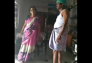 Husband and wife sex dance.