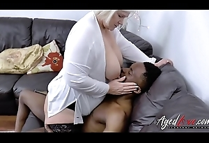 AgedLovE Lacey Starr acquires Interracial Hardcore