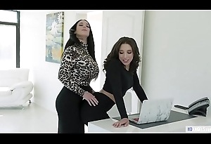 Anal at the Office - Abella Dare plus Angela White