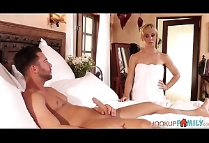 Broad in the beam Tits Broad in the beam Ass MILF Undertaking Mom Cherie Deville Intense Fucking Undertaking Son
