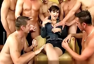 team fuck and piss orgy from here doll