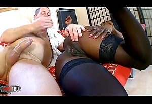 Naomi Lionness hot felonious battle-axe fucked in chum around with annoy exasperation be proper of money